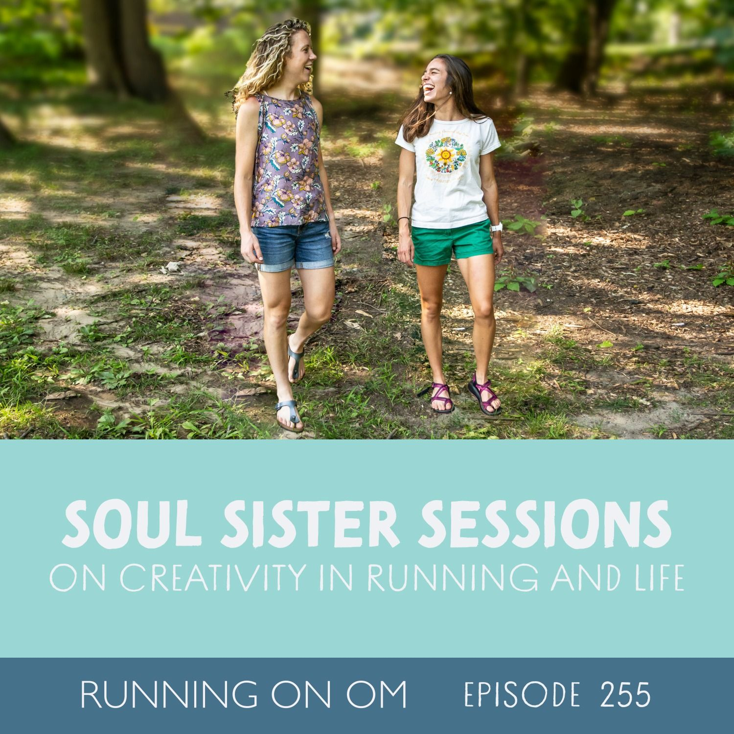 Soul Sister Sessions on Creativity in Running and Life