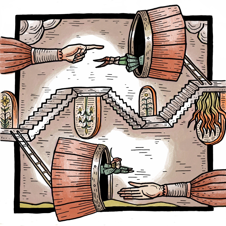 Zyklus 2: Der Hahnrei im Weinfass