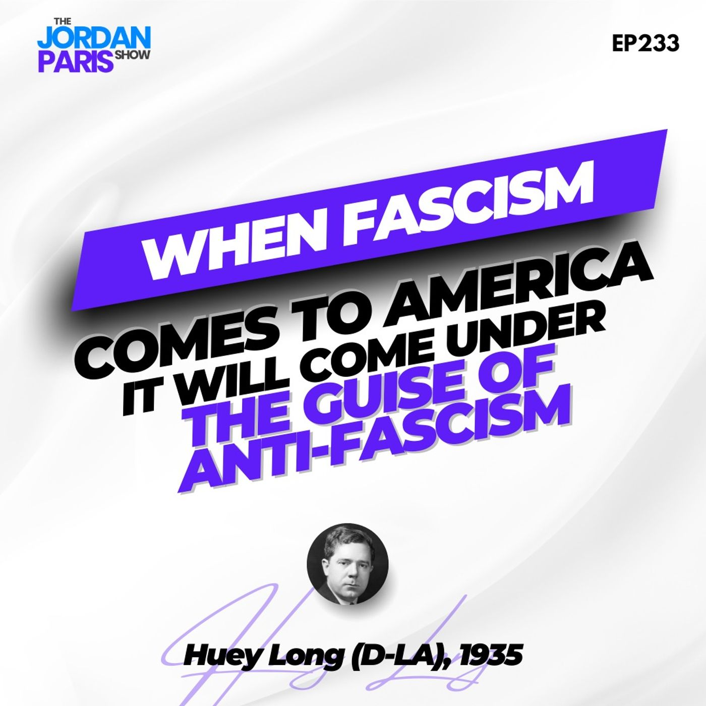 """When Fascism Comes to America, It Will Come Under the Guise of Anti-fascism"""
