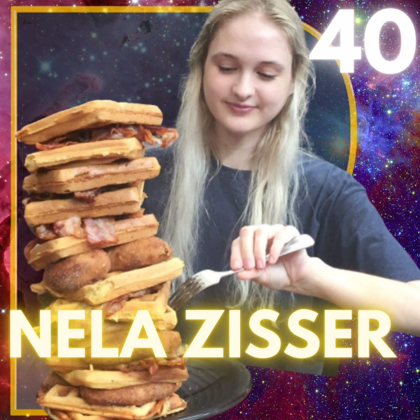 Speed Eating on Youtube with Nela Zisser