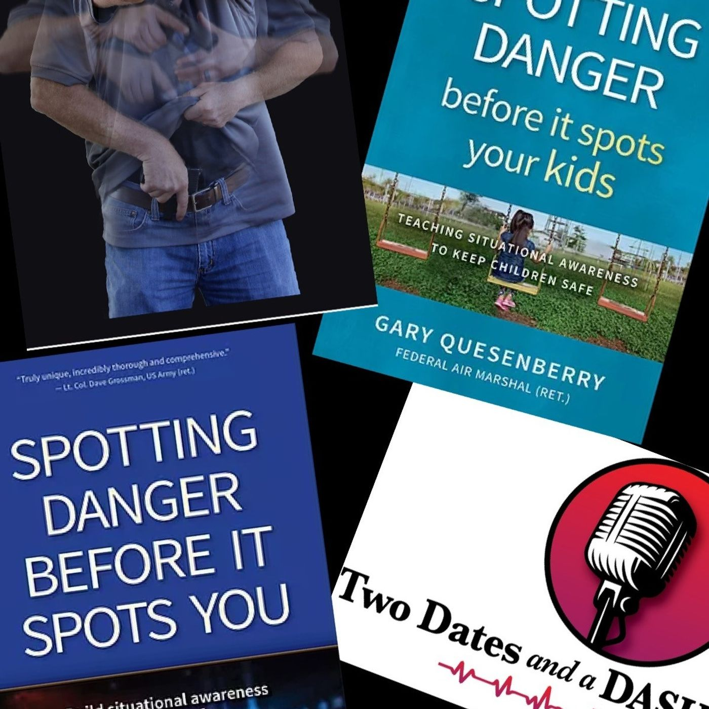 Two Dates and a Dash Podcast Episode 93: Retired Federal Agent and Author, Gary Quesenberry