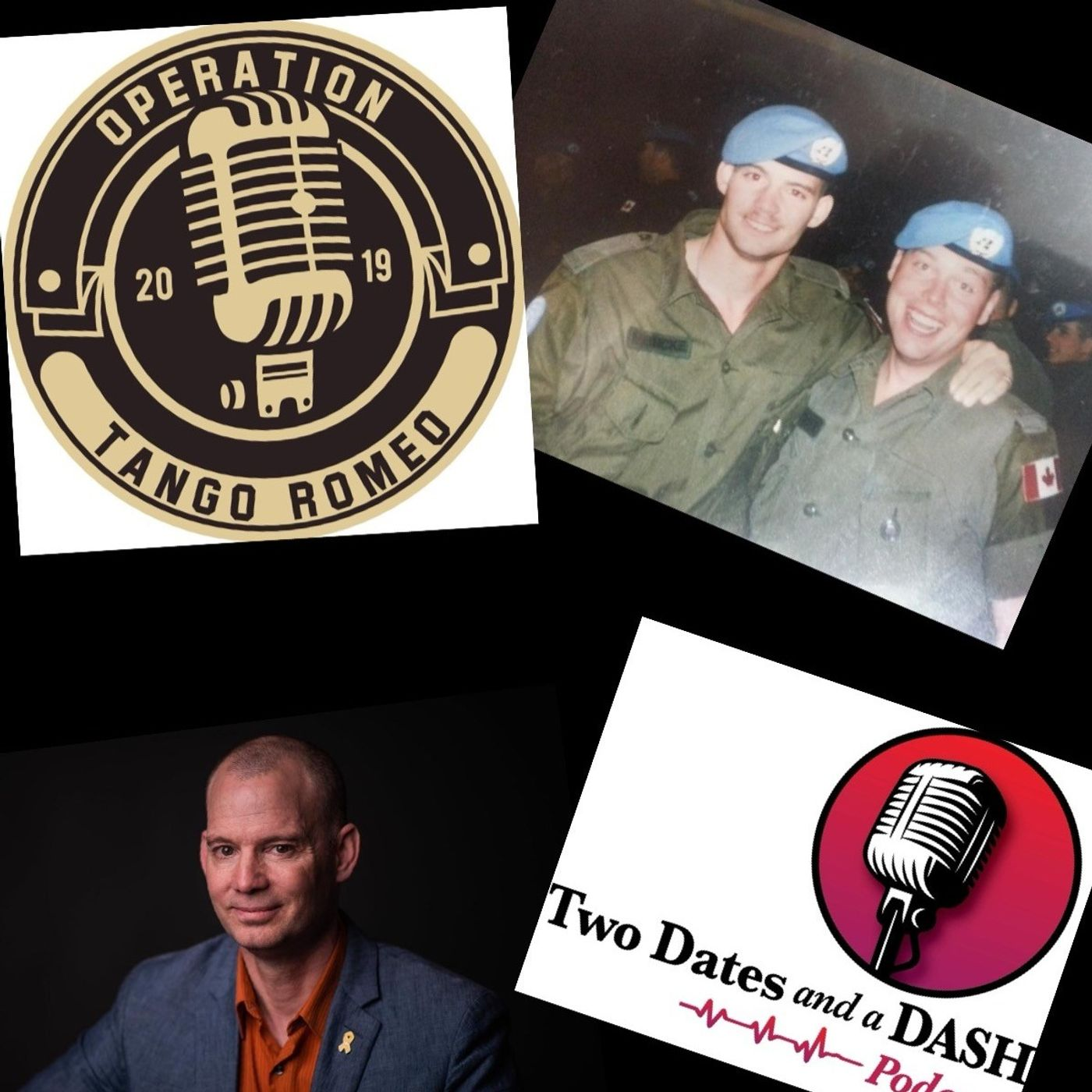 Two Dates and a Dash Podcast Episode 91:  Host of the Operation Tango Romeo Podcast, Mark Meincke