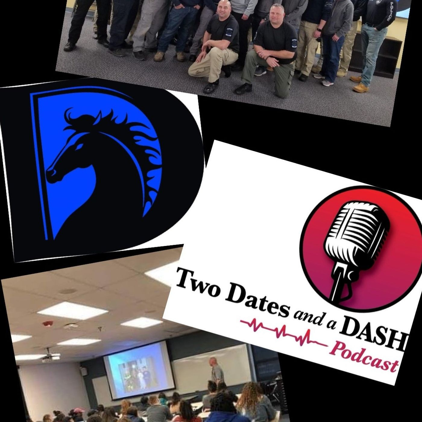 Two Dates and a Dash Podcast Episode 88: Career Cop and Founder of Dark Horse Law Enforcement Training, Russ Hittle